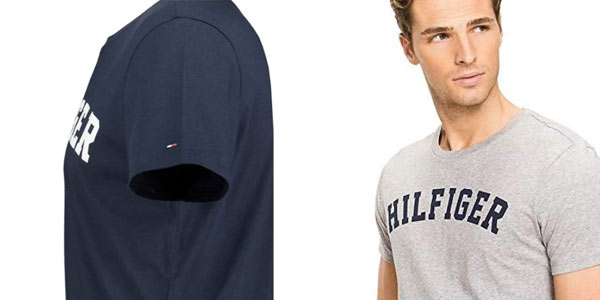 Camiseta Tommy HIlfiger logo en oferta