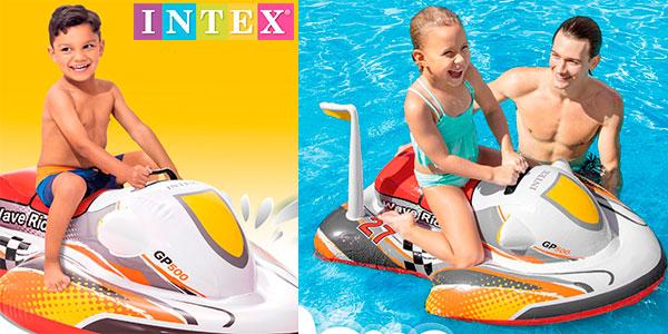 Moto acuática hinchable Intex 57520NP para niños barata