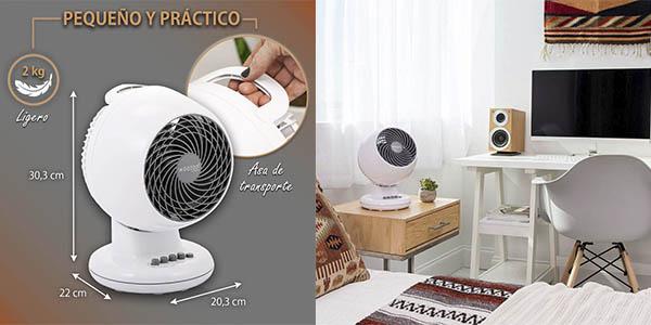 Iris Ohyama PCF M15 ventilador mesa silencioso relación calidad-precio