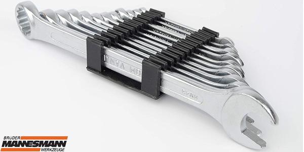 Juego de 12 llaves combinadas Mannesmann M19652 baratas en Amazon