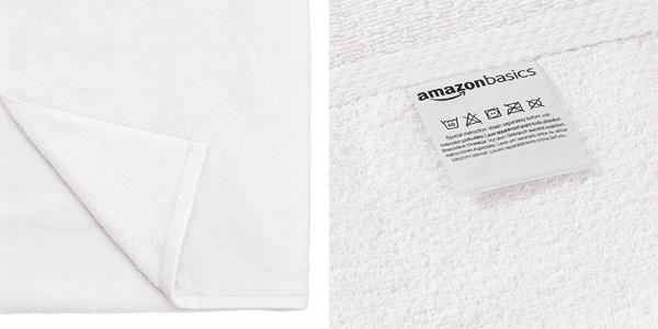 Juego de 6 toallas de secado rápido Amazon Basics chollo en Amazon