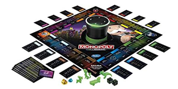 Juego de mesa Monopoly Voice Banking (Hasbro E4816S00) chollo en Amazon