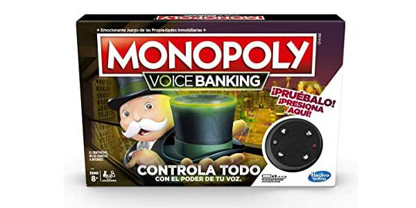 Juego de mesa Monopoly Voice Banking (Hasbro E4816S00) barato en Amazon