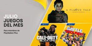 Juegos gratis con PS Plus julio 2021