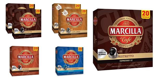 Cápsulas Marcilla variadas para Nespresso