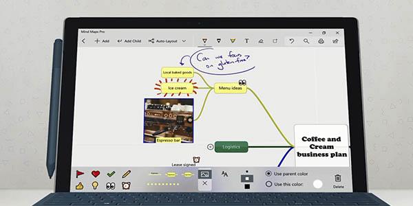 Mind Maps Pro app Microsoft gratuita