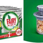 Pack 125 capsulas Fairy Platinum All In One chollo