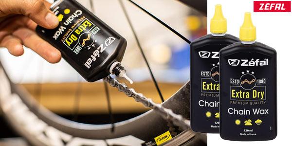 Pack x2 Lubricante Zefal Extra Dry en cera para bicicleta barato en Amazon
