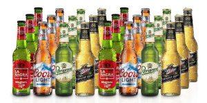 Pack degustación x24 botellas Lagers del Mundo de La Sagra de 33 cl baratas en Amazon