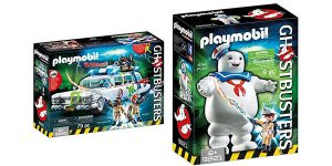 Pack Playmobil Ghostbusters Ecto-1 + Playmobil Marshmallow