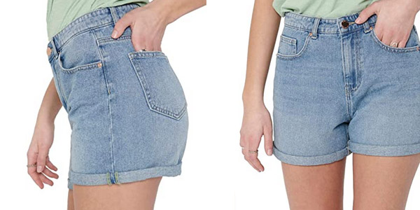 Pantalones cortos Only Onlphine Life Shorts para mujer baratos en Amazon