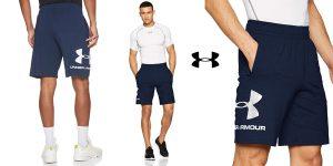 Pantalones cortos Under Armour Sportstyle Cotton Logo para hombre baratos en Amazon