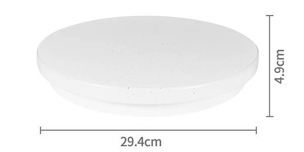 Lámpara de techo LED ANYES inteligente en AliExpress