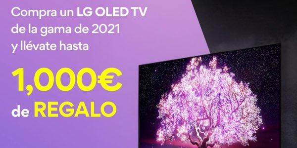 Hasta 1.000€ de reembolso al comprar un TV LG OLED, QNED o Nanocell