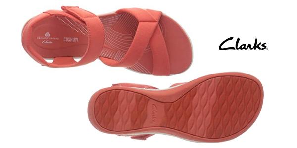 Sandalias de cuña Clarks Arla Gracie para mujer chollo en Amazon