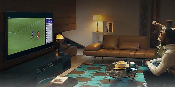 "Smart TV Samsung Crystal UHD 2021 50AU8005 4K HDR de 50"" barato"