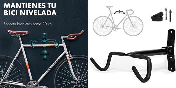 Soporte de pared para bicicletas Charles Daily barato en Amazon