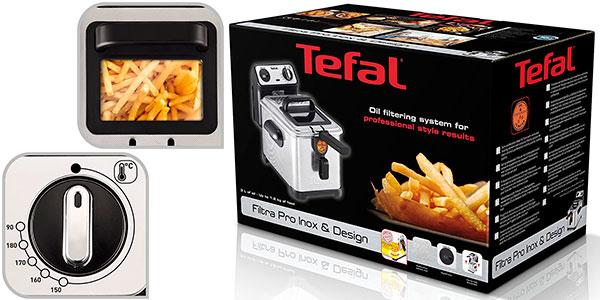 Freidora Tefal Filtra Pro Premium de 3 litros barata