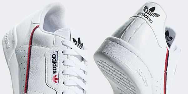 Zapatillas Adidas Continental 80 para niños baratas