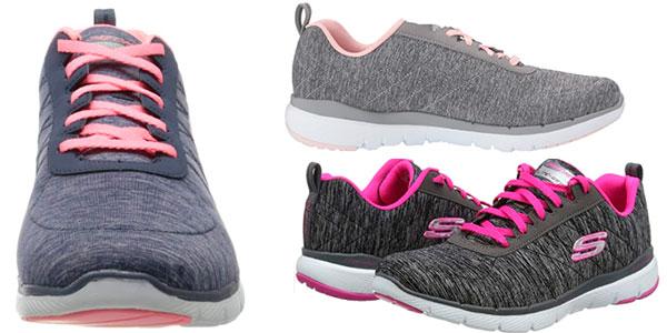 Zapatillas Skechers Flex Appeal 3.0-Insiders para mujer baratas