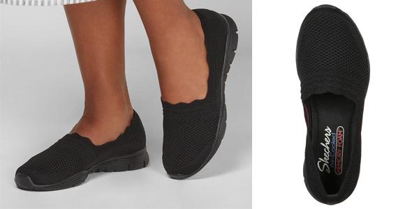Zapatillas sin cordones Skechers Seager para mujer rebaja en Amazon