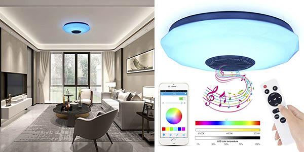 Abedoe lámpara LED altavoz chollo