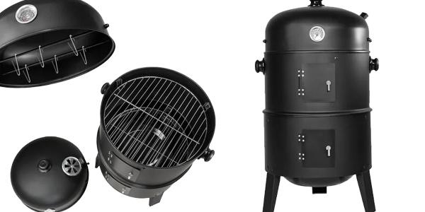 Barbacoa grill 3 en 1 con 3 niveles para asar en Manomano