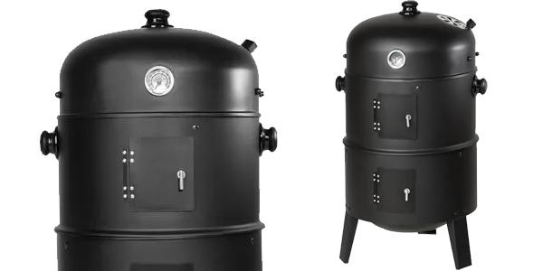 Barbacoa grill 3 en 1 con 3 niveles para asar chollo en Manomano