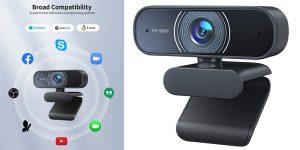 Cámara web Full HD 1080 px RaLeno barata en Amazon