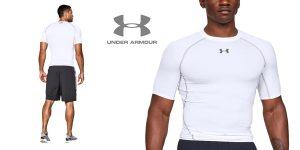 Camiseta de compresión Under Armour Ua Heatgear Short Sleeve para hombre barata en Amazon