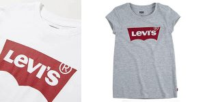 Camiseta infantil Levi's barata