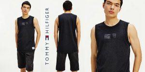 Camiseta sin mangas Tommy Jeans TJM Tonal Box Logo Tank para hombre barata en Amazon