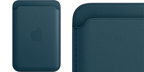 Cartera de piel Apple con MagSafe para iPhone barato