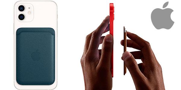 Chollo Cartera de piel Apple con MagSafe para iPhone