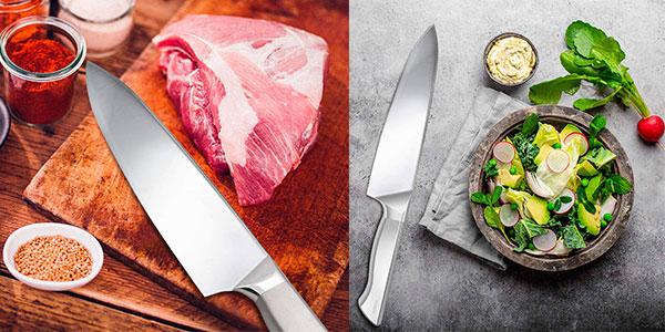 Chollo Cuchillo de chef Shan Zu de 20 cm