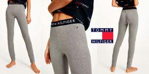 Chollo Leggings largos Tommy Hilfiger con logo para mujer