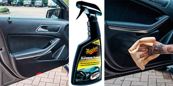 Limpiador de interiores de coche Meguiar's Supreme Shine de 473 ml