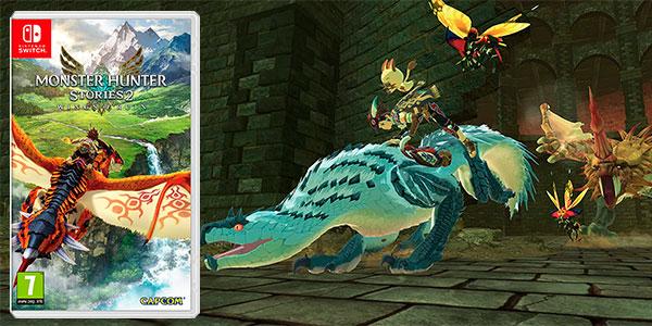 Chollo Monster Hunter Stories 2 para Switch