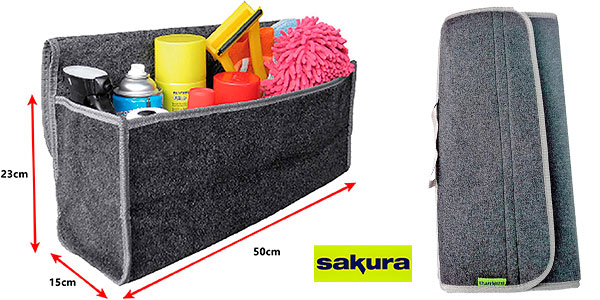 Chollo Organizador de maletero Sakura
