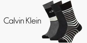 Chollo Pack de 3 pares de calcetines Calvin Klein Multi Stripe para hombre