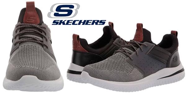 Chollo Zapatillas Skechers Delson 3.0-Cicada para hombre