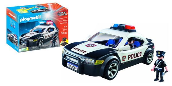 Coche de policía Playmobil City Action Police Cruiser (5673) barato en Amazon