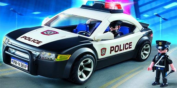 Coche de policía Playmobil City Action Police Cruiser (5673) chollo en Amazon