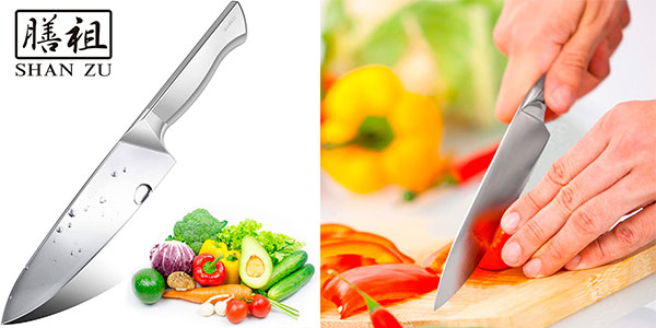 Cuchillo de chef Shan Zu de 20 cm barato