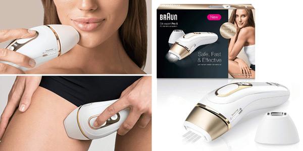 Depiladora IPL unisex Braun Silk·Expert Pro 5 PL5124 barata en Amazon