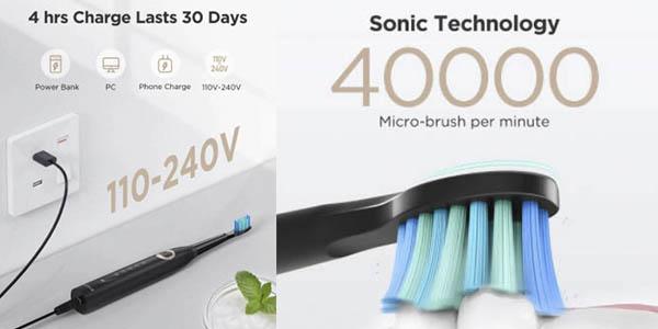 Fairywill FW508 cepillo dientes eléctrico chollo