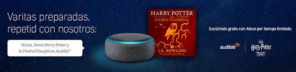 Harry Potter Piedra Filosofal audiolibro promoción audible
