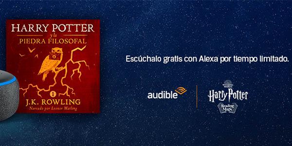 Harry Potter Piedra filosofal gratis Audible