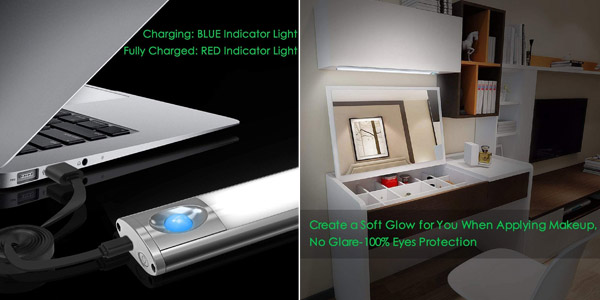 Luz 66 cuentas LED Lofter 66 con 4 modos de luz y 2 sensores chollo en Amazon