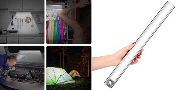 Luz 66 cuentas LED Lofter 66 con 4 modos de luz y 2 sensores barata en Amazon